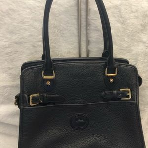 Dooney Bourke All black vintage bag